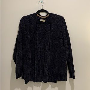 Urban Outfitters Plush Chenille Cardigan